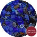 Blue Amber Glass Mix