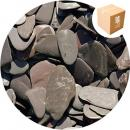 Tumbled Slate Paddlestones - Blue / Grey - Small